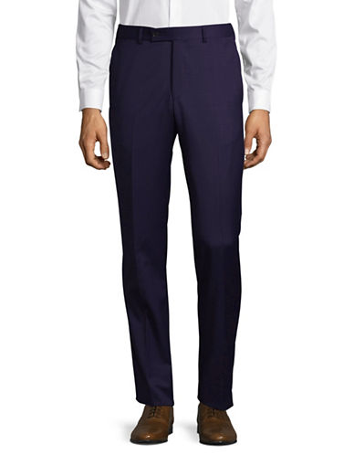 Ted Baker No Ordinary Joe Joey Wool Dress Pants-BLUE-30 Regular