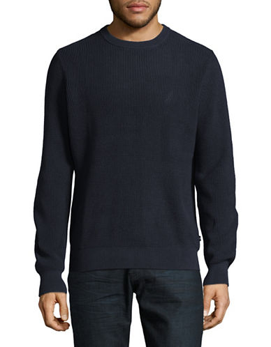 Nautica Thermal Crew Sweater-NAVY-X-Large