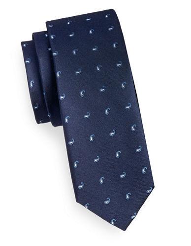 Sondergaard Boteh Silk Twill Tie-NAVY-One Size