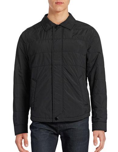 Nautica Classic Jacket-TRUE BLACK-Large