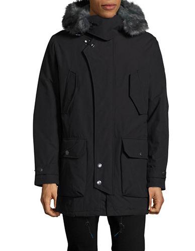 Nautica Down-Filled Hooded Parka-TRUE BLACK-Large 88658717_TRUE BLACK_Large