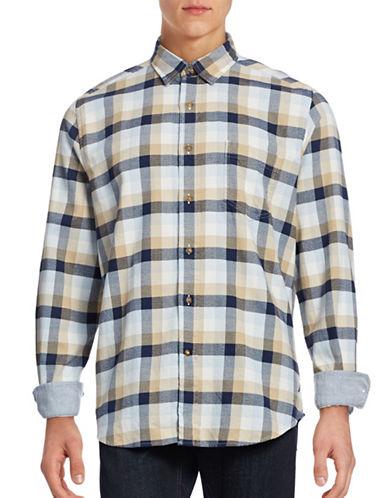 Nautica Brush Twill Shirt-SANDY BAR-Medium