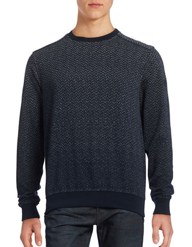 Bugatti Chevron Fade Sweater-GREY-X-Large 88620513_GREY_X-Large