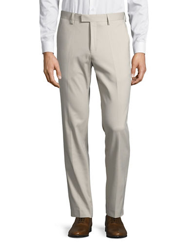Sondergaard Slim Fit Dress Pants-BEIGE-38X32