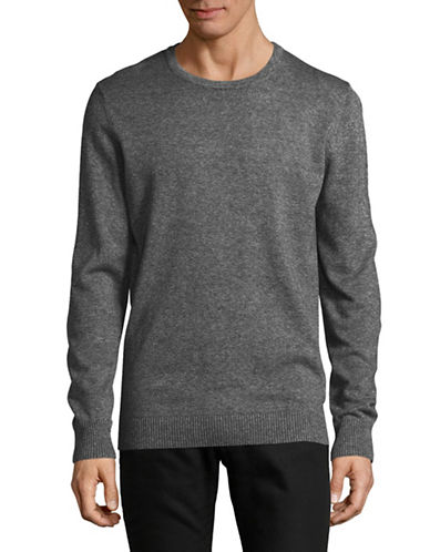 Bruun And Stengade Jupiter Crew Sweater-GREY-X-Large