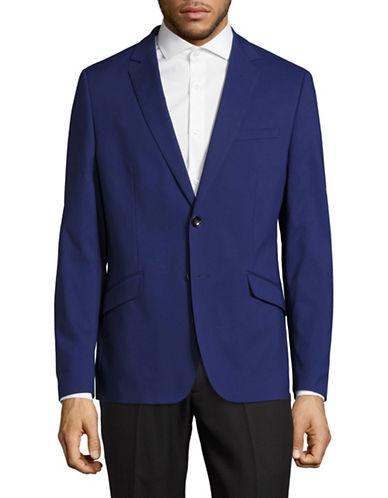 Sondergaard Striped Suit Jacket-BLUE-38 Short
