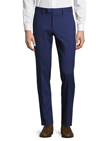 Sondergaard Slim Fit Dress Pants-BLUE-32X30