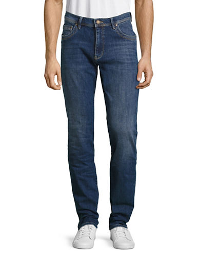 Bugatti Modern Fit Stretch Jeans-BLUE-34X34