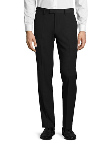 Sondergaard Slim Fit Dress Pants-BLACK-38X32