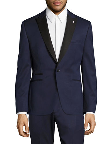 Lambretta Lambretta Tuxedo Jacket-BLUE-38 Regular