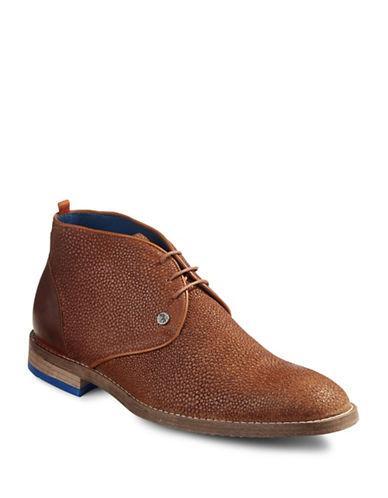 A Fish Named Fred Meteor Chukka Boots-BROWN-EU 40/US 7