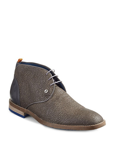 A Fish Named Fred Meteor Chukka Boots-GREY-EU 43/US 10