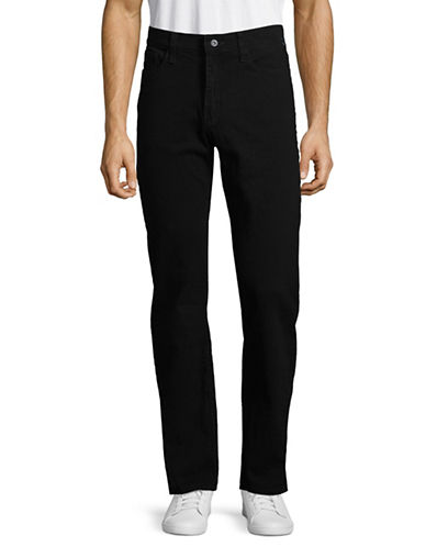 Nautica Stretch Straight Leg Jeans-BLACK INK WS-38X32