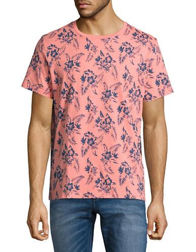 Nautica Printed T-Shirt-PINK-Small 89183969_PINK_Small