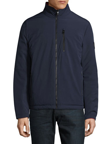 Nautica Reversible Bomber Jacket-TRUE NAVY-Small