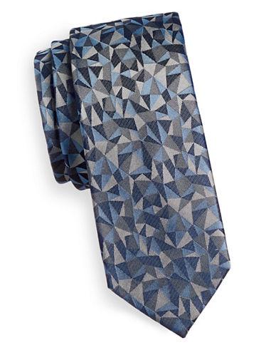Sondergaard Prism Silk Tie-GREY-One Size