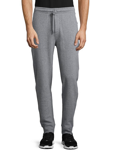 Nautica Fleece Joggers-GREY-Large