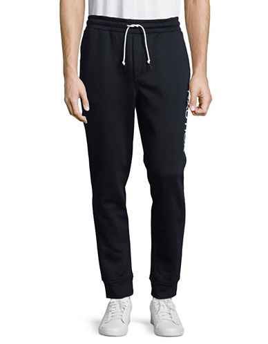 Nautica Tech Fleece Jogger Pants-NAVY-X-Large
