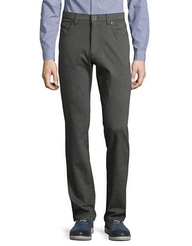 Bugatti Five-Pocket Pants-GREY-30X34