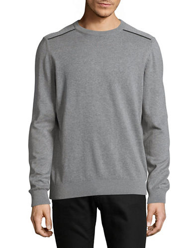 Bugatti Athletic Sweatshirt-GREY-X-Large