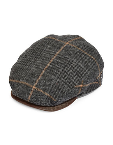 Bugatti Plaid Ivy Cap-GREY-XLarge