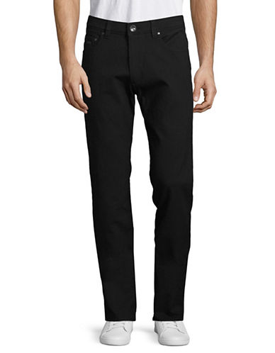 Bugatti Five-Pocket Pants-BLACK-36X34