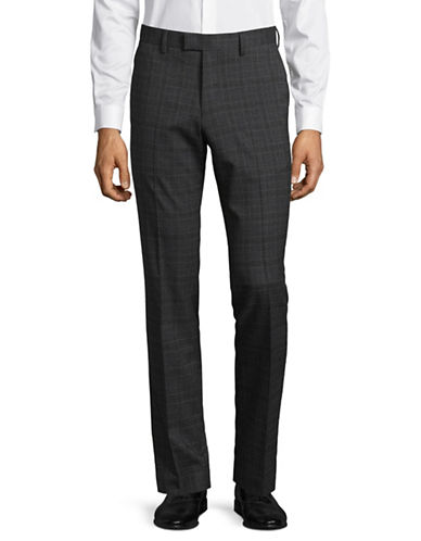Sondergaard Slim Fit Dress Pants-GREY-34X32