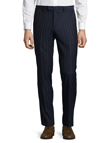 Sondergaard Slim Fit Dress Pants-BLUE-36X30