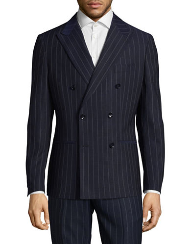 Sondergaard Slim-Fit Dobby Suit Jacket-BLUE-44 Regular