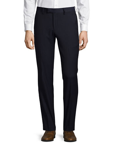 Sondergaard Slim Fit Dress Pants-BLUE-36X32