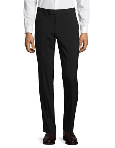 Sondergaard Slim Fit Dress Pants-BLACK-38X30