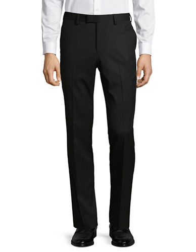 Sondergaard Slim Fit Dress Pants-BLACK-34X30