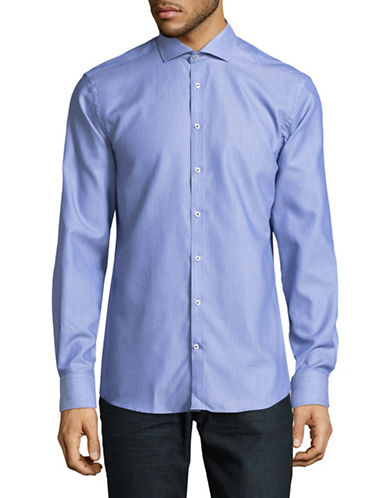 Bruun And Stengade Classic Woven Shirt-BLUE-EU 38/US Small