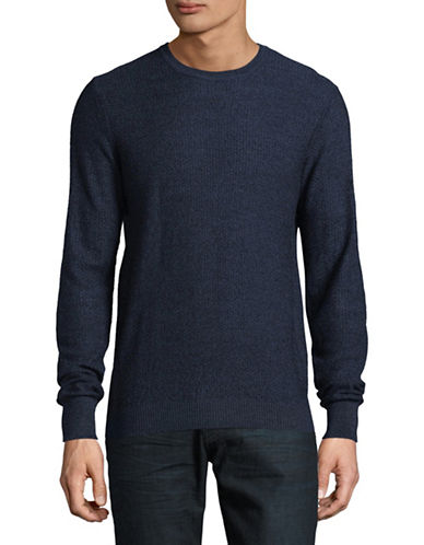 Bruun And Stengade Wool-Blend Knit Sweater-BLUE-X-Large