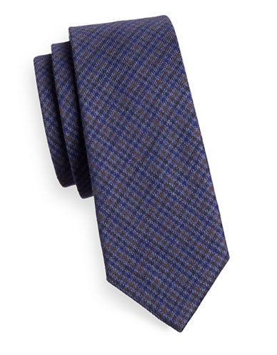 Bruun And Stengade Telles Cotton Tie-BLUE-One Size