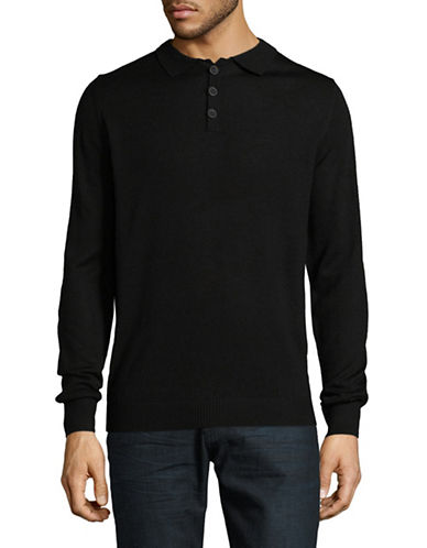 Bruun And Stengade Atlanta Sweater-BLACK-X-Large