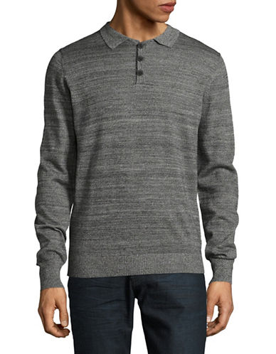 Bruun And Stengade Atlanta Sweater-GREY-Medium