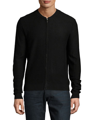 Bruun And Stengade Lucca Cardigan-BLACK-Medium