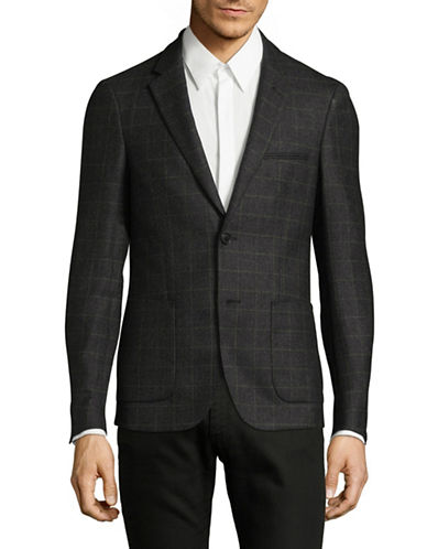 Bruun And Stengade Louis Wool Blazer-BLACK-EU 52/US 42