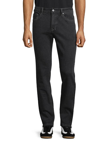 Bruun And Stengade Neal Slim-Fit Jeans-CHARCOAL-32X32