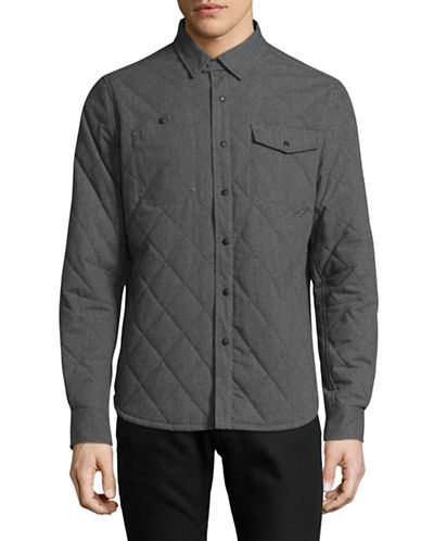 Nautica Quilted Jacket-GREY-X-Large 89389421_GREY_X-Large