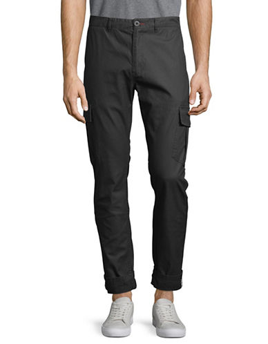 Nautica Military Cargo Pants-GREY-32
