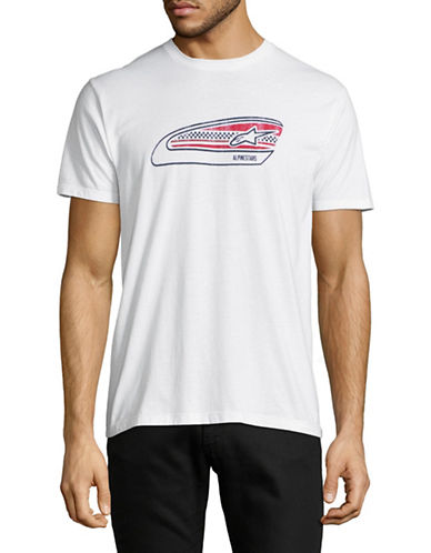 Nautica Tanked T-Shirt-WHITE-Large