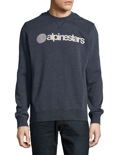 Alpinestars Vittoria Fleece Sweater-BLUE-Large