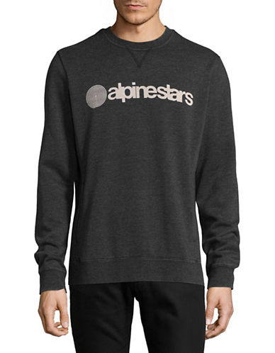 Alpinestars Vittoria Fleece Sweater-GREY-Large