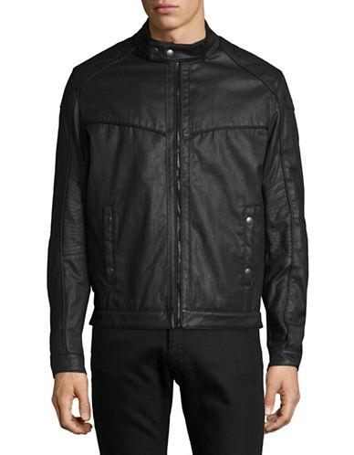 Nautica Moto Style jacket-BLACK-Large