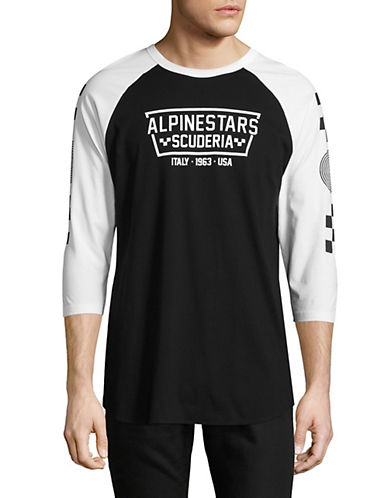 Alpinestars Ironsmith Premium Graphic Shirt-BLACK-Large