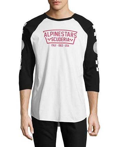 Alpinestars Ironsmith Premium Graphic Shirt-WHITE-Small