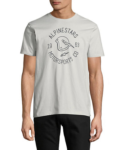 Alpinestars Winged Graphic T-Shirt-SILVER-Small