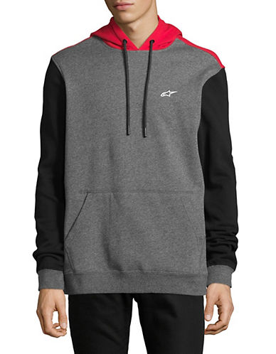 Alpinestars Overshot Fleece Pullover Hoodie-GREY-Medium